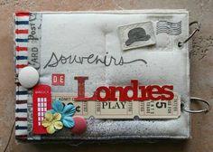 mini album souvenirs de Londres dos de couv