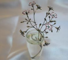 Enamel flowers by Nikolay Suslov