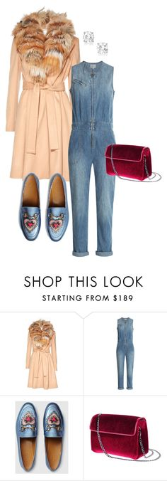 """""""Untitled #101"""" by stylesbylex on Polyvore featuring Alice + Olivia, Current/Elliott and Gucci"""