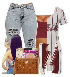 """""""Untitled #249"""" by oh-thatasia ❤ liked on Polyvore featuring NLY Trend and Converse"""
