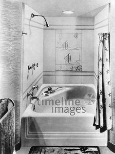 kinder um 1900 ullstein bild - ullstein bild/timeline images, Badezimmer