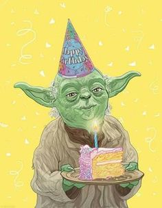 Image result for happy birthday middle age star wars