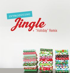 Ann Kelle's holiday collection - Jingle! in stores May 2012