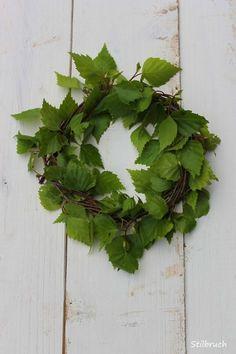 simple green wreath