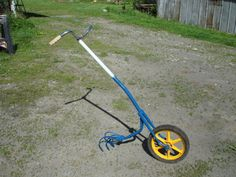 Ed's Metal Creations: Homemade Wheel Hoe