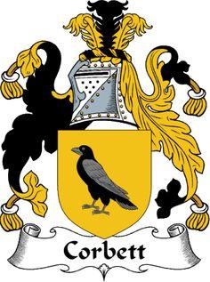 Corbett Clan Coat of Arms