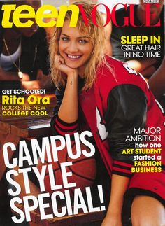 ROC NATION | Rita Ora Covers Teen Vogue