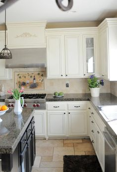 Adding height to your kitchen cabinets | My Uncommon Slice Of Suburbia
