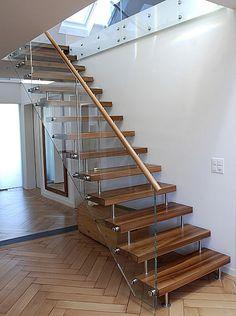 Columbus Treppen halbgewendelte treppe wangen mit setzstufe columbus treppe