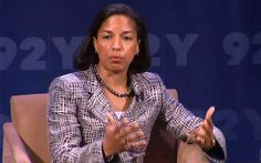 U.S. ambassador to the UN Susan Rice speaks at the Social Good Summit on how social media is transforming the reach of foreign policy.