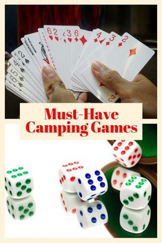 You can't go wrong with these family-friendly camping games that everyone will love! Don't plan your next trip without these fun camping games for families! #campinggames #camping #adventures #family