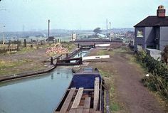 Avon, Narrow Boat, Canal Boat, Birmingham, 1960s, Past, British, River, Country