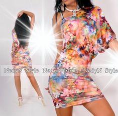 383320224c NedyN virág mintás poliamid Pelikán női ruha - AdryFashion női ruha  webáruház, Ruha webshop, Amnesia, NedyN, Rensix , Egyedi ruha