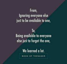 But maybe that's what I'm meant to learn how to live too. Some lessons are meant to be. Bae Quotes, Girly Quotes, Words Quotes, Qoutes, Sayings, Teenager Quotes About Life, Crazy Girl Quotes, Heartfelt Quotes, Heartbroken Quotes