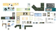 Free Photoshop PSD Kitchen Blocks – CAD Design | Free CAD Blocks,Drawings,Details
