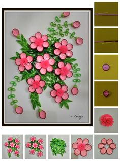 20 best paper quilling images on pinterest paper quilling tutorial paper quilling floral wall frame step by step instructions quilling flowers tutorialflower mightylinksfo
