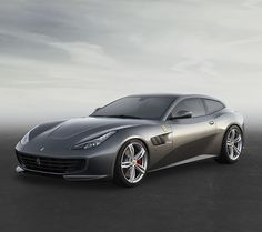 """The new Ferrari GTC4Lusso: four-seater, four-wheel drive and steering V12. A """"Whole new world"""" of experience."""