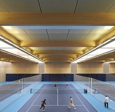 Hufton + Crow   Projects   Lee Valley Hockey and Tennis Centre