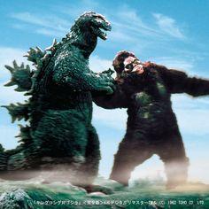 King Kong Vs Godzilla HD Wide Wallpaper for Widescreen Wallpapers) – HD Wallpapers Horror Monsters, Cool Monsters, Classic Monsters, King Kong Vs Godzilla, Giant Monster Movies, Monster Books, Monster Art, Godzilla Birthday Party, Godzilla Franchise