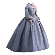 Tumblr ❤ liked on Polyvore featuring dresses, costume, long dresses, victorian y victorian clothes