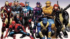 The Marvel Superheroes Ironman Spiderman Captain America #marvel #superheroes #ironman #spiderman #captainamerica