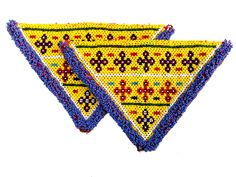 Best Free Embroidery Patches indian Concepts The very best along with most frequent base clothing pertaining to patches is definitely felt or may Denim Jacket With Dress, Denim Jacket Patches, Embroidery Patches, Beaded Embroidery, Vintage Textiles, Etsy Vintage, Triangle, Applique, Indian