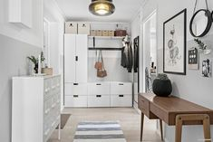 Ikea 'Sprutt' cabinet &'Stuva' shelving units