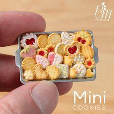 Miniature cookies www.parisminiatures.etsy.com
