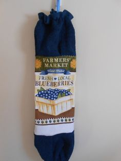 Think Mother's Day!  Grocery Bag Dispenser/Holder by CrochetandOrnaments on Etsy, $8.00