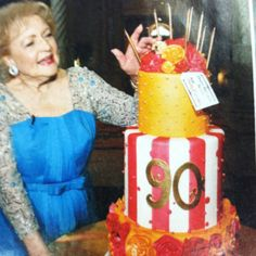 Betty white! <3 the day she dies will be the worst day of my life. She is such an amazing person