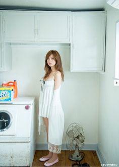 Cute Beauty, Asian Beauty, Idol, White Dress, Lingerie, Actresses, Summer Dresses, Lady, Beautiful