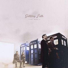 3 TARDISes!