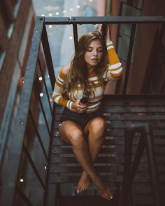 Beautiful Street Portrait Photography by Zechariah Lee #inspiration #photography