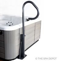 Our Spa Side Handrail has 360° of movement, allowing for easy spa entry or exit! SKU: AC1003  PRICE: $129.95