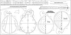 Smith Creek Mandolin and Tonewood, Smith Creek Mandolin and Tonewood Molds & Template