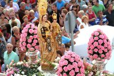Fiestas del Carmen     patrona de los marineros.