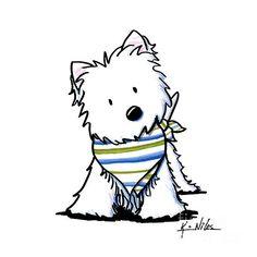 westie drawings free westie terrier drawings showing by kim niles rh pinterest com westie clipart free clipart westie dogs