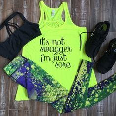 Constantly Varied Gear Outfits - Fitness Leggings - Gym Tanks