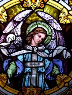 Archangel Raphael-healer and guide stained glass window panel Stained Glass Church, Stained Glass Angel, Stained Glass Windows, Architecture Religieuse, I Believe In Angels, Spiritus, Angels Among Us, Angels In Heaven, Guardian Angels