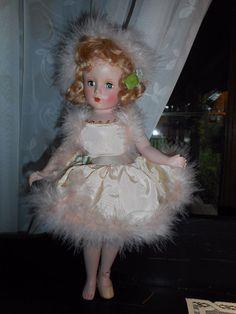 """VINTAGE 14"""" Madame Alexander Babs Skater Skaing  Doll 1948 #MadameAlexander #Doll"""