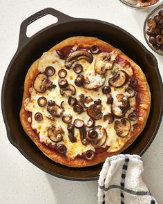 How To Make Stovetop Skillet Pizza — Recipes from The Kitchn
