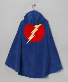 Take a look at this Superhero Hooded Towel by One Step Ahead on #zulily today!