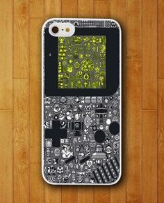 Game Boy Let's Play iPhone Skin Protector for iPhone 4 4S 5 5S 5C #game boy let's play case  #iPhone Skin