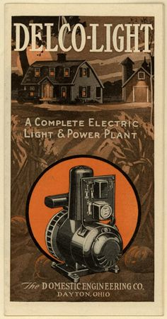 Delco-Light. From Duke Digital Collections. Collection: Emergence of Advertising in America. also includes photographs. Prices are written within the text of the pamphlet.