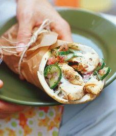 Grilled Chicken Tzatziki  (The cucumber sauce recipe alone is worth pinning.)
