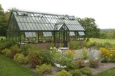 DREAM greenhouse!!! Kristine Sprague, Architect LEED AP | Cherry Hill Estate Greenhouse - Kristine Sprague, Architect LEED AP