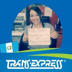 """Colaboradores TransExpress dicen:  """"#MeGustaGuatemala POR LOS SHUCOS DEL LICEO"""" Ashley Alvarado Trafico P.O.Box"""