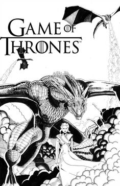 Game of Thrones by ChristianWillett on DeviantArt Game Of Thrones Story, Game Of Thrones Poster, Game Of Thrones Facts, Game Of Thrones Dragons, Game Of Thrones Quotes, Game Of Thrones Funny, Hbo Game Of Thrones, Got Dragons, Mother Of Dragons