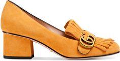 Metallic mid-heel pump