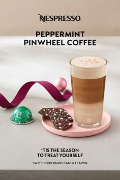 With gift planning in full swing, don't forget to treat yourself! Take some time to unwind and indulge with Nespresso's new Peppermint Pinwheel coffee. 'Tis the season to treat yourself. Nespresso Recipes, Nespresso Usa, Pinwheel Recipes, Home Coffee Stations, Peppermint Candy, Coffee Pods, Pinwheels, Treat Yourself, Tis The Season